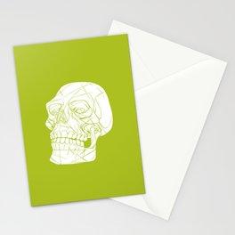 Skull Looking Left Stationery Cards