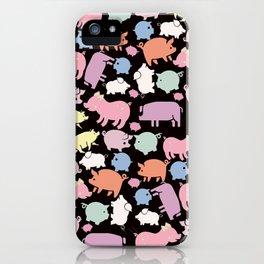 Pigs iPhone Case