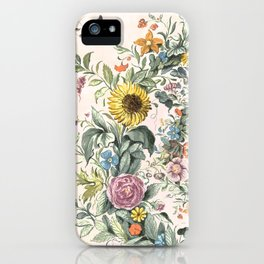 Circle of life- floral iPhone Case