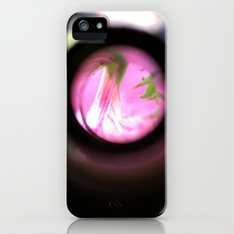 60x flower pink iPhone Case