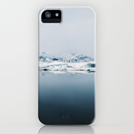 Ethereal Glacier Lagoon in Iceland - Landscape Photography iPhone Case