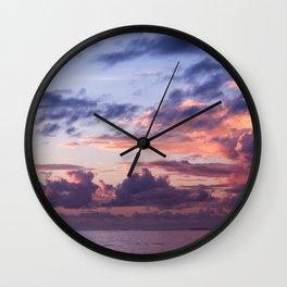 Morning Hues Wall Clock