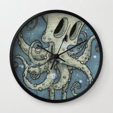 Nasty octopus Wall Clock