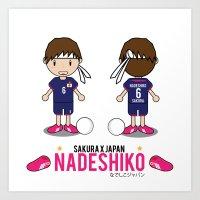 Nadeshiko X Sakura Art Print