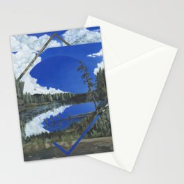 Grand Mesa Polyscape Stationery Cards