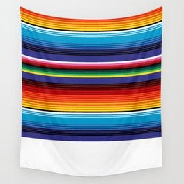 The Mexican Stripes Wall Tapestry