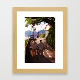 4:03pm Framed Art Print