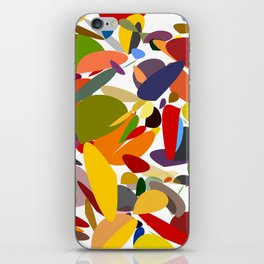 Colorful pebbles iPhone Skin