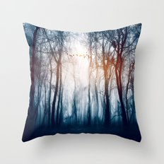 Morning Colours Throw Pillow