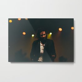 Father John Misty Metal Print