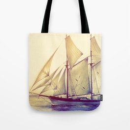 Afternoon Sail Tote Bag