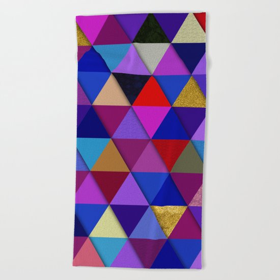 Abstract #276 Beach Towel