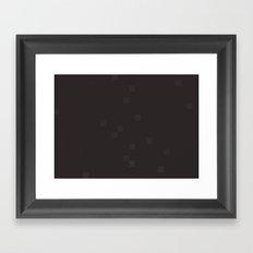 ABSTRACT PIXELS #0015 Framed Art Print