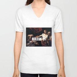 Judith is Killin' It Unisex V-Neck