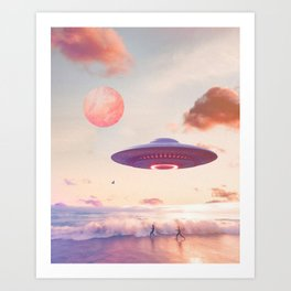Take me back home Art Print