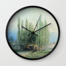 Sukhum Kale 1873 By Lev Lagorio | Reproduction | Russian Romanticism Painter Wall Clock