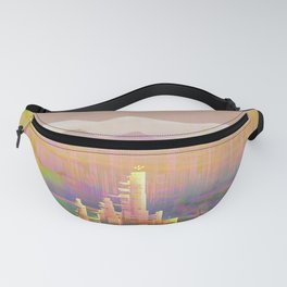 Back to that City, Dreamscape Fanny Pack
