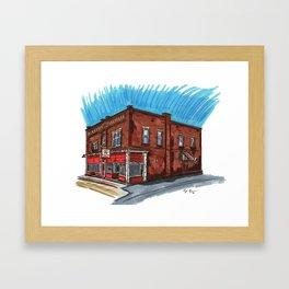 Pizza Villa Framed Art Print