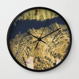 Mediterranean Sea and my feet Wall Clock