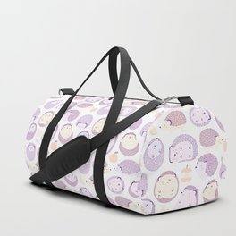Happy Hedgies - Kawaii Hedgehog Doodle Duffle Bag