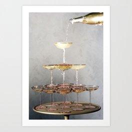 champagne supernova Art Print