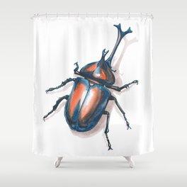 Kabuto Shower Curtain