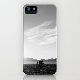 Nevada Desert Sunrise IV iPhone Case
