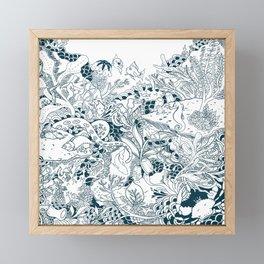 Community Sea life Framed Mini Art Print