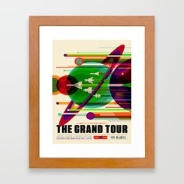 Vintage poster - The Grand Tour Framed Art Print
