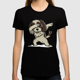 Dabbing Shih Tzu Dog Dab Dance T-shirt