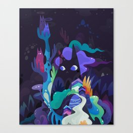 dark-side cats Canvas Print