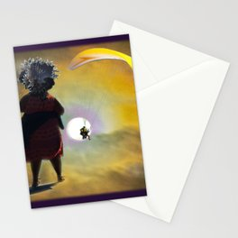 Moon Glide Stationery Cards