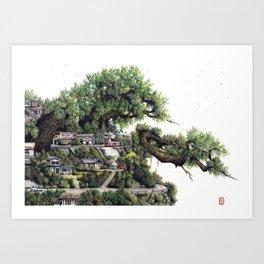 Nest iv Art Print