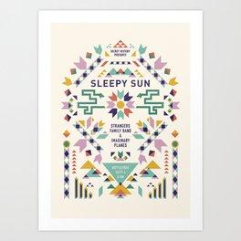 Sleepy Sun at the Bottletree Art Print