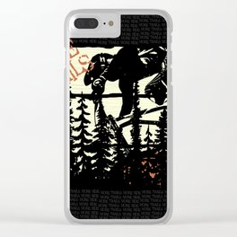 More Trails Clear iPhone Case