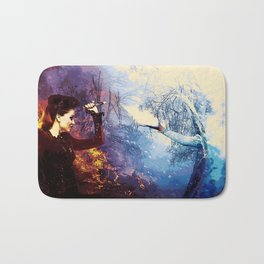 Once Upon A Time - Fire vs. Ice Bath Mat