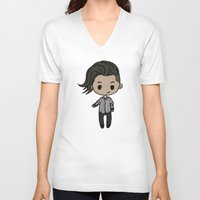 melbourne V-neck T-shirts featuring Melbourne Zayn by clevernessofyou