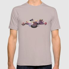 Labyrinth Cinder LARGE Mens Fitted Tee