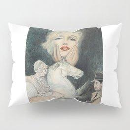 Marilyn - oh diese Männer! - Ölgemälde Pillow Sham