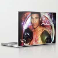 ali gulec Laptop & iPad Skins featuring Ali #2 by YBYG