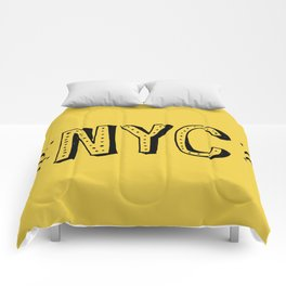 NYC lettering series: #2 Comforters