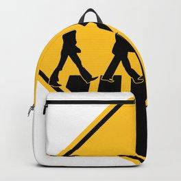 Famous Band Walk Road Sign   Design Backpack