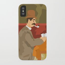 Card players by Cezanne iPhone Case
