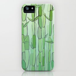 Phyllostachys iPhone Case