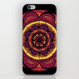Colored Mandala iPhone Skin