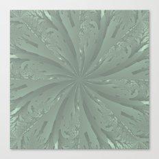 Lost in the Laurels Fractal Bloom Canvas Print