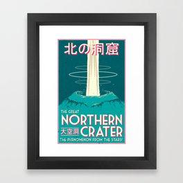 Final Fantasy VII - Great Northern Crater Framed Art Print