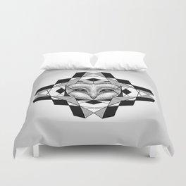 Geometric Owl Duvet Cover