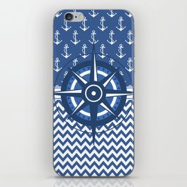Captain's Compass iPhone Skin