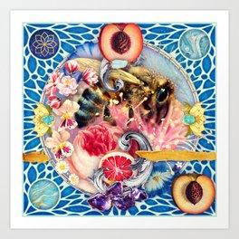Pollen Part II :: The Symbiosis Project // 13/100 Art Print